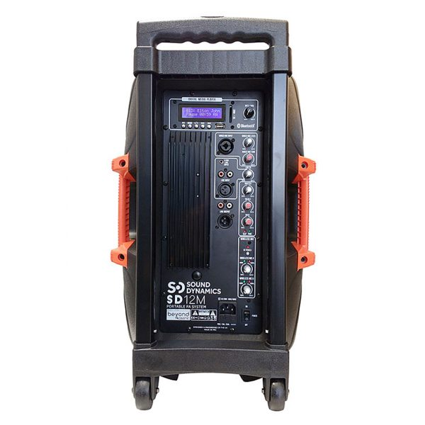 black_orange_SD12M_250w_PA_system_back