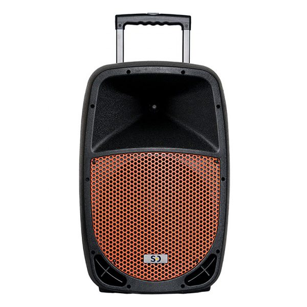 black_orange_SD12M_250w_PA_system_front