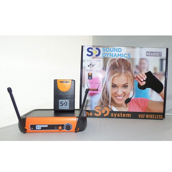 black_orange_SD1_VHF_headset_mic_system